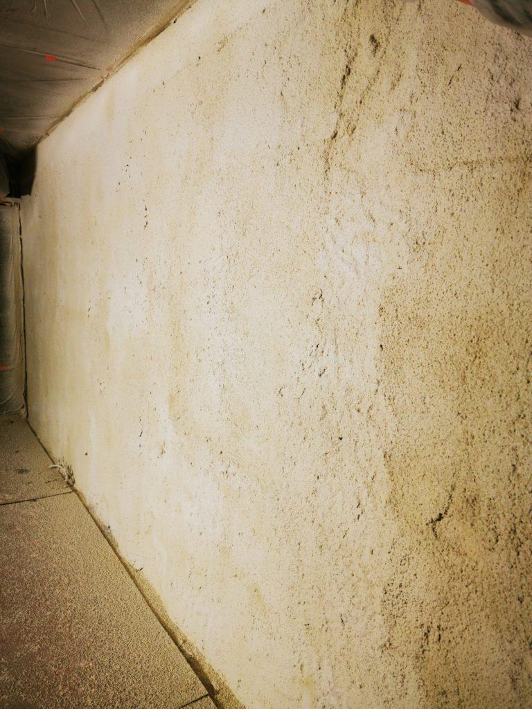 Ściana szczelinowa - Tynk Tarabona