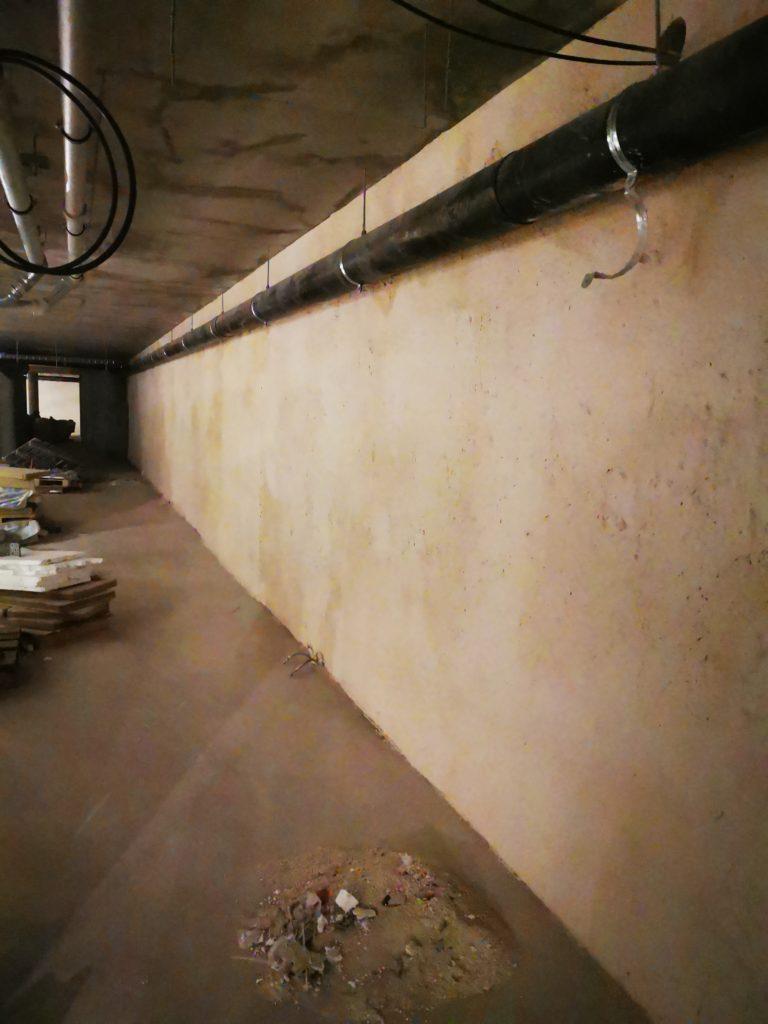 Ściany szczelinowe Tynk Tarabona